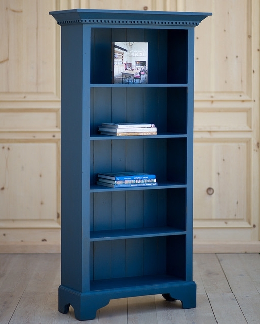 Cottage Tall Bookcase – View In Your Room! (View 4 of 15)