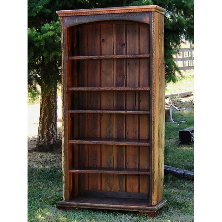 Country Roads Reclaimed Wood Bookcaseidaho Wood Shop With Widely Used Reclaimed Wood Bookcases (View 2 of 15)