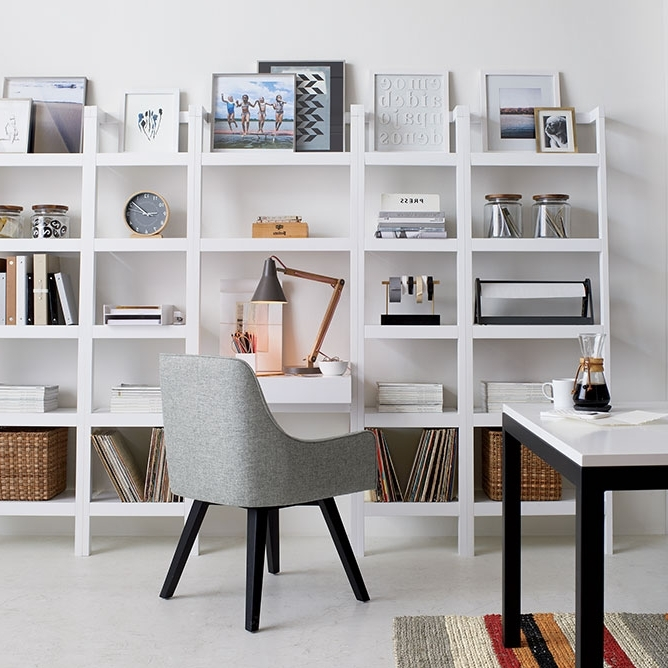 Crate And Barrel Bookcases With Most Current Bookcase Decorating Ideas (View 8 of 15)