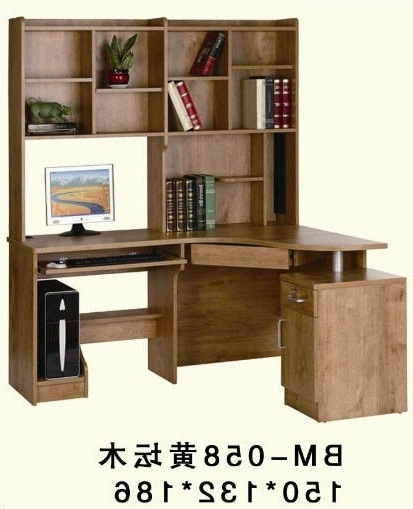 Current Astounding Bookshelf Design With Study Table Contemporary – Best Within Study Desk With Bookshelves (View 2 of 15)