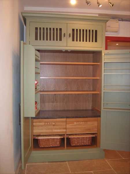 Current Bespoke Cupboard For Marc Smith Bespoke – Larder Cupboards (View 9 of 15)