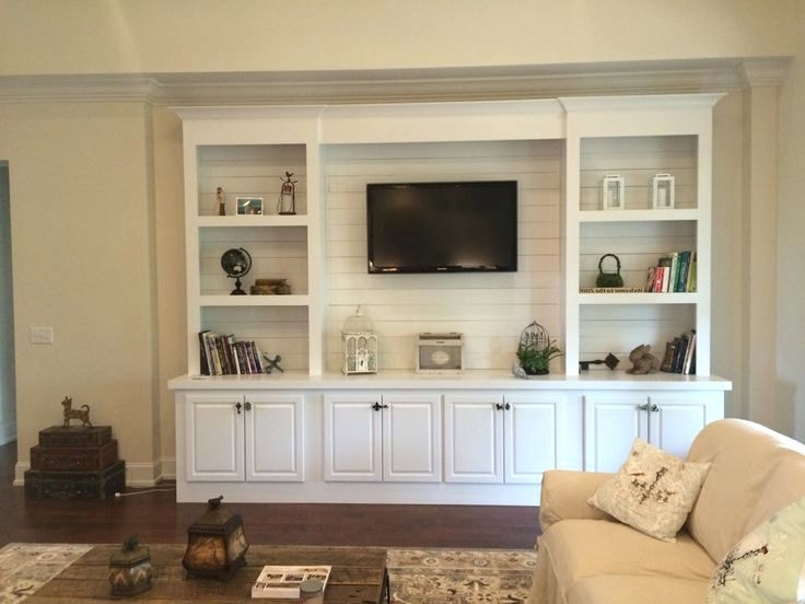 Current Built In Bookshelves With Tv Within Bookcase ~ Built In Bookshelves With Tv Built In Bookshelves With (View 9 of 15)