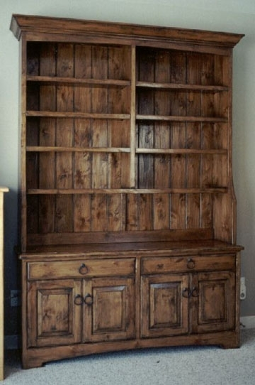 Current Cabinet Bookcases With Regard To Bookcases & Cabinets — Sun Valley Wood Works (View 6 of 15)