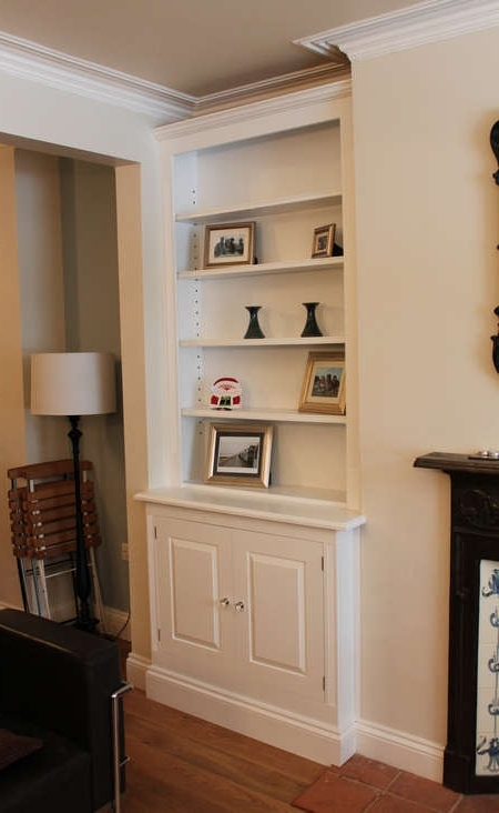 Current Chloe Alcove Cupboards And Shelves Living Room London (View 1 of 15)