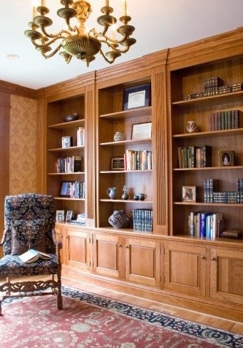 Current Custom Made Bookshelves Pertaining To Custom Made Library Bookshelves In Home Officeartisan (View 4 of 15)