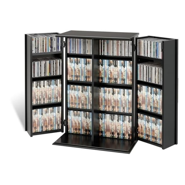Current Dvd Bookcases For Broadway Locking Dvd/cd Media Storage Cabinet – Free Shipping (View 12 of 15)