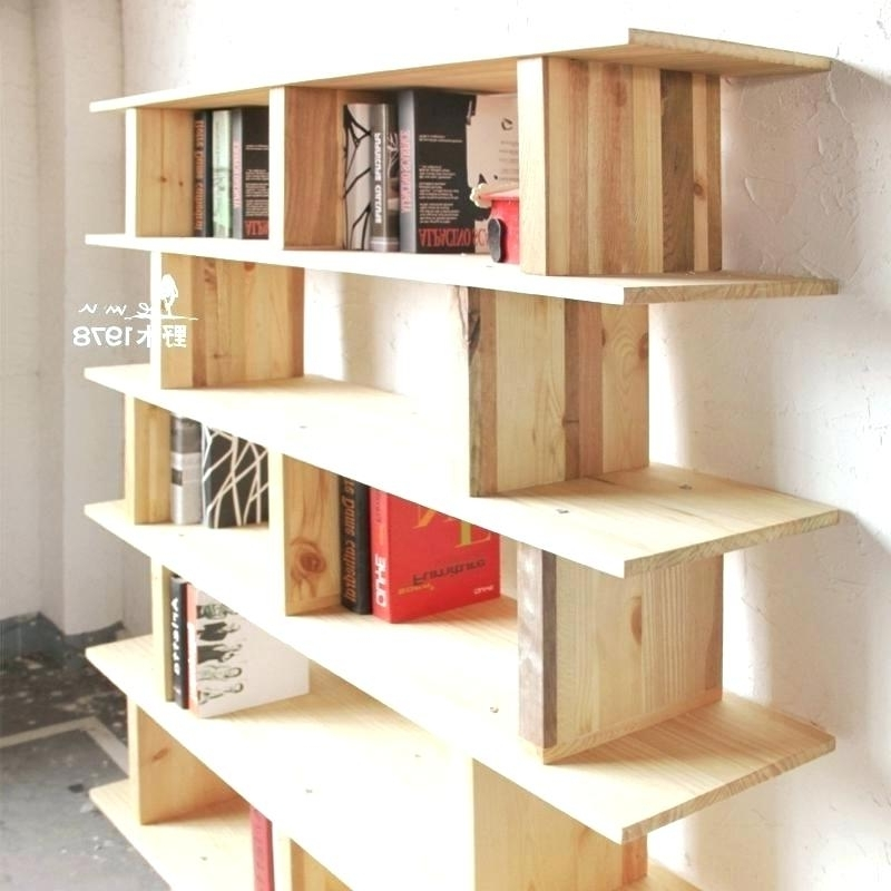 Current Handmade Bookcase Handmade Bookcase Modern Minimalist Handmade For Handmade Bookcases (View 3 of 15)