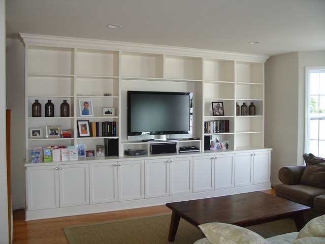 Current Lacquer Painted Wall Unit For Wall Units For Living Room (View 3 of 15)