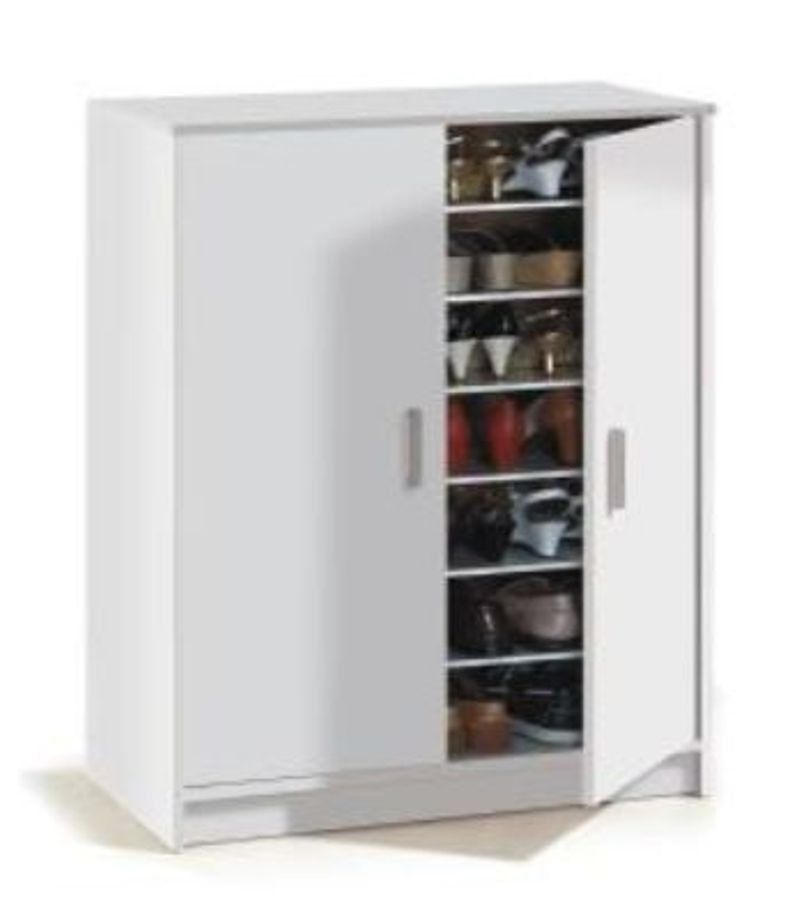 Current Large Storage Cupboards With Regard To Collection In Large Shoe Storage Cabinet With Gemma Large White  (View 7 of 15)