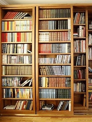 Current Large Wooden Bookcases Regarding Best 25+ Large Bookcase Ideas On Pinterest (View 3 of 15)