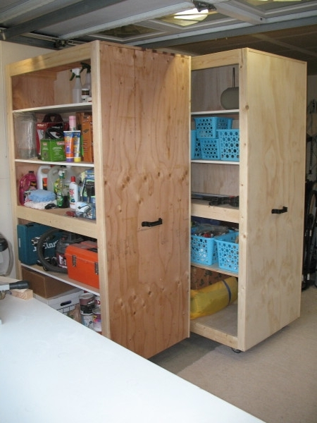 Current Mobile Garage Storage Cabinets From The Kreg Owners' Community Regarding Mobile Wardrobes Cabinets (View 1 of 15)