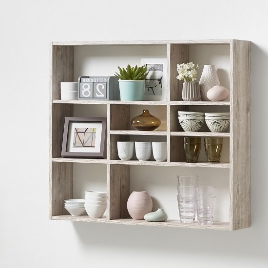 Featured Photo of Oak Wall Shelving Units