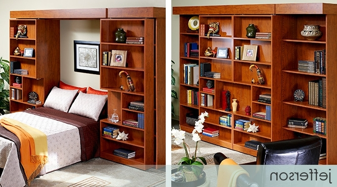 Current Presidential Indeed, With Ample Storage For Books Or Collectibles With Bifold Bookcases (View 6 of 15)