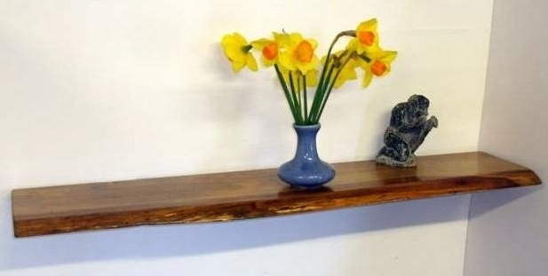 Current Rustic English Oak Floating Shelf – Something Wood Inside Oak Shelves (View 3 of 15)