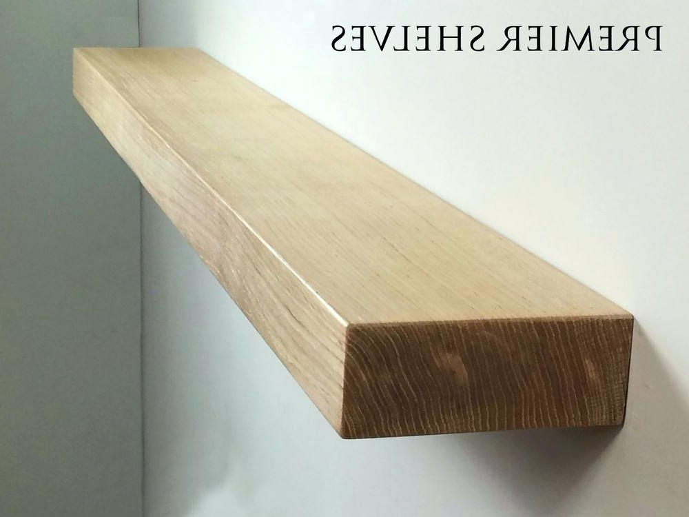 Current Solid Oak Shelves For Floating Mantel Solid Oak Floating Shelf Fireplace Mantel Mantle (View 14 of 15)
