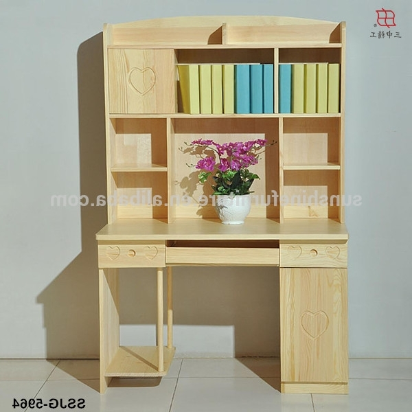 Current Study Desk With Bookshelves In Wonderful Study Table With Bookshelf For Children Ideas – Best (View 3 of 15)
