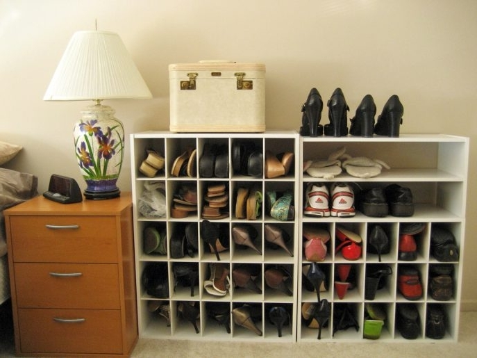 Current Wardrobes Shoe Storages Regarding Storage : Small Closet Shoe Storage Ideas Shoe Storage Ideas Nz (View 7 of 15)