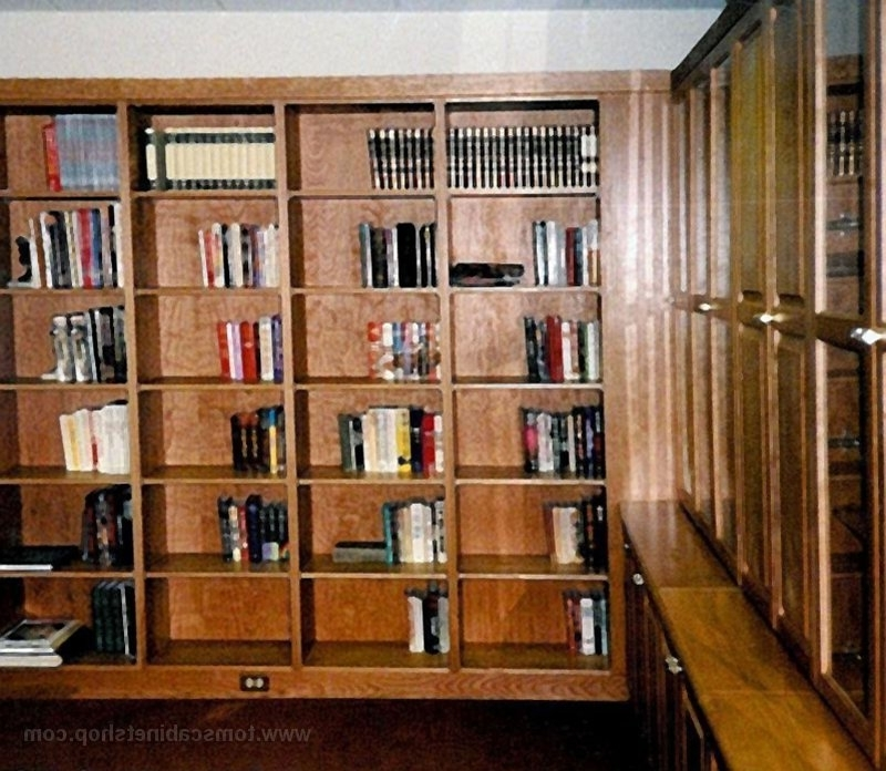 Custom Bookcases Inside Current Custom Bookcases (View 3 of 15)