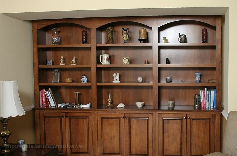 Custom Bookcases Pertaining To Popular Custom Bookcases (View 6 of 15)