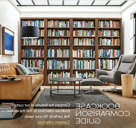 Custom Bookcases Within Widely Used Modern Custom Bookcases – Modern Custom Furniture – Room & Board (View 7 of 15)