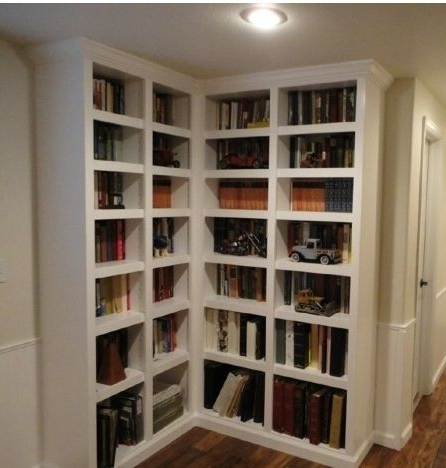 Custom Classic Built In Bookcaseswestside Designworks Regarding Well Liked Built In Bookcases Kits (View 12 of 15)