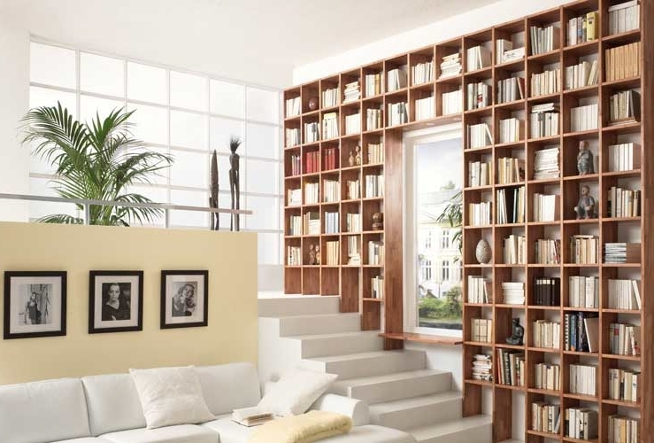 Custom Made Bookshelves With Regard To Popular Bookcases Ideas: Affodable Choice Custom Made Bookcases Wall (View 6 of 15)