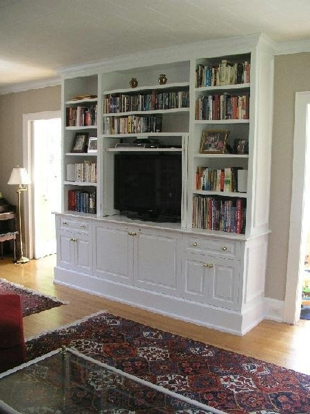 Decorating The Den Pertaining To Well Liked Built In Tv Bookcases (Gallery 12 of 15)