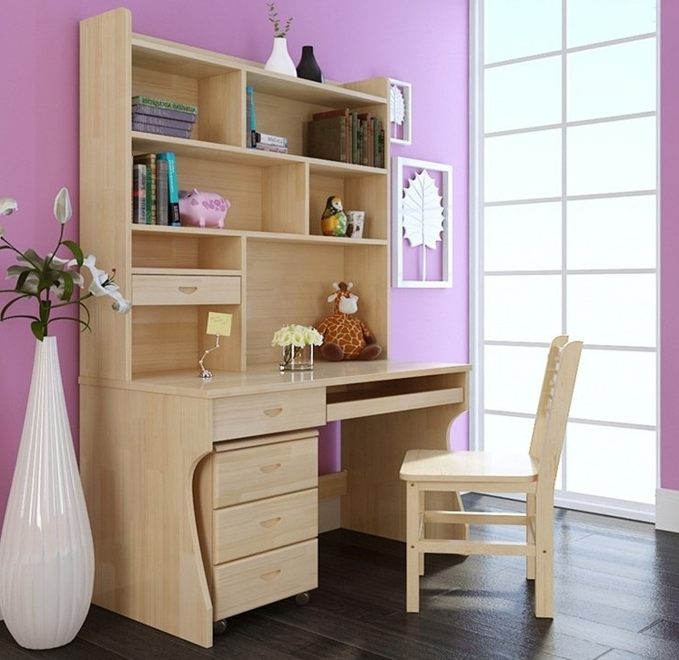 Desk Bookcase Combo – Best Desk Design Ideas For Home And Office Intended For Recent Desk Bookcases (View 11 of 15)