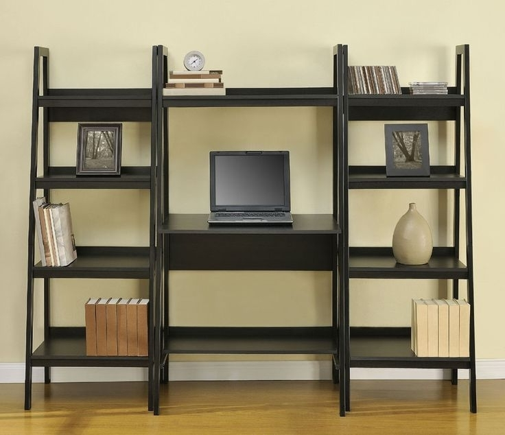 Desk With Matching Bookcases For Newest Best 25+ Desk Bookshelf Combo Ideas On Pinterest (View 7 of 15)