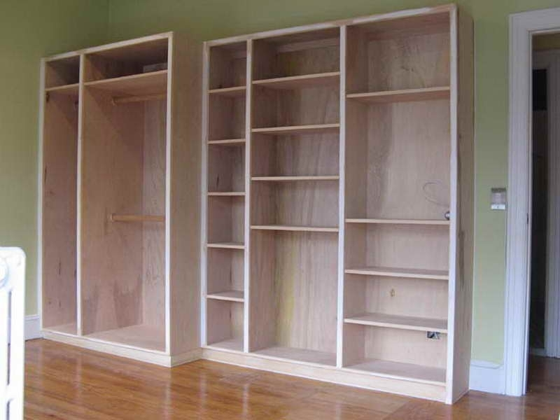 Diy Bookcases Plans In Most Up To Date Built In Bookcase Plans: Built In Bookcase Plans Green Wall Color (View 7 of 15)