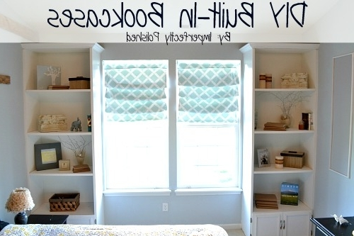 Diy Built In Bookcase Tutorial For Well Known Build Built In Bookcases (View 9 of 15)