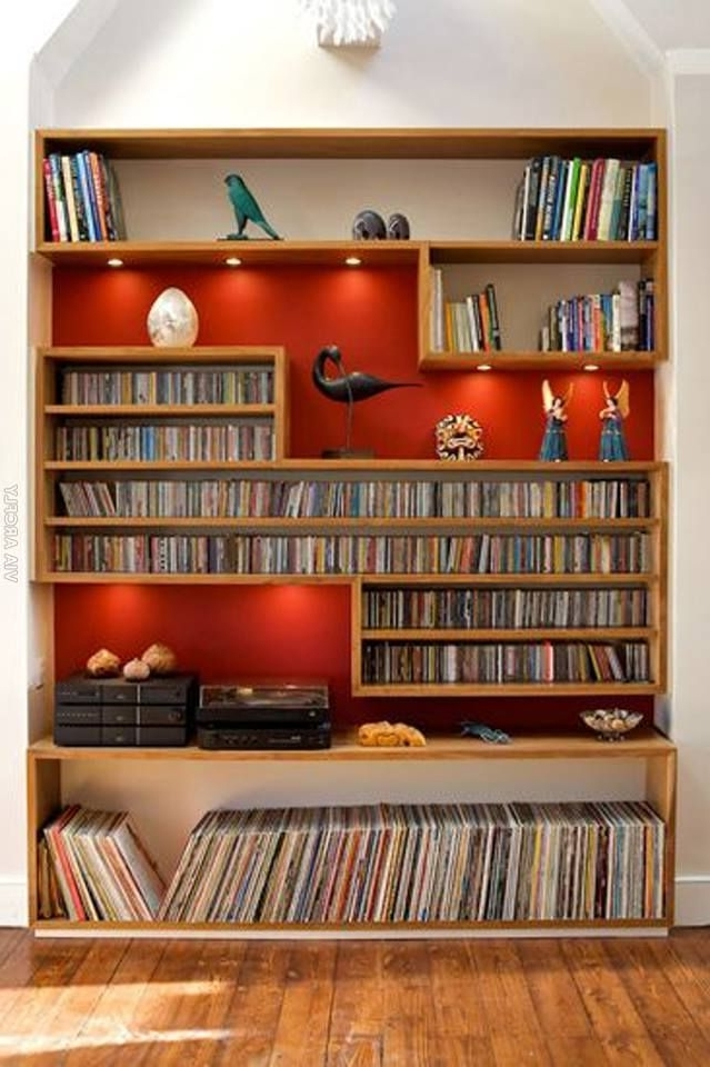 Diy Dvd Shelves, Dvd Inside Famous Dvd Bookcases (View 7 of 15)