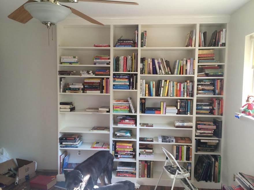 Diy Ikea Billy Bookcase Built In Bookshelves Part 2 – Run To Radiance Inside 2017 White Billy Bookcases (View 4 of 15)