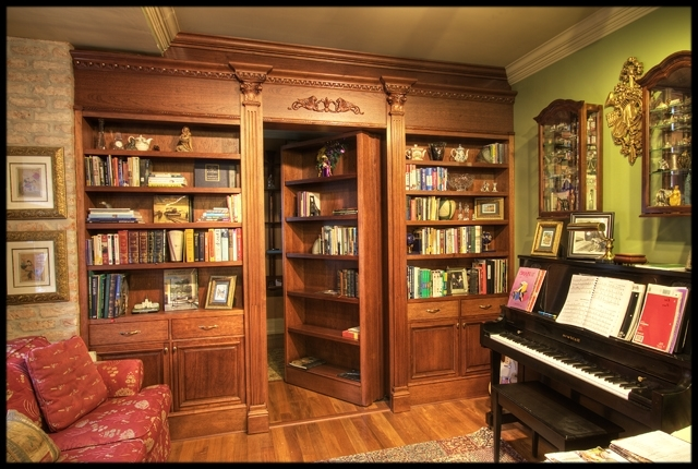 Doors, Secret Passage And Pertaining To 2018 Secret Door Bookcases (Gallery 3 of 15)
