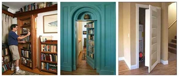 Doors With Regard To 2018 Door Bookcases (View 11 of 15)