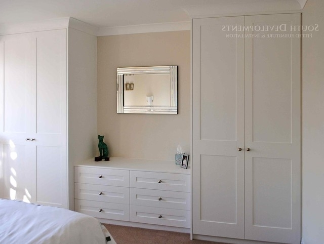 Drawers For Fitted Wardrobes Pertaining To Most Recently Released Shaker Style Fitted Wardrobes & Chest Of Drawers – Traditional (View 4 of 15)