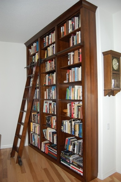 Dutch Haus Custom Furniture In Bookcases With Ladder (View 8 of 15)