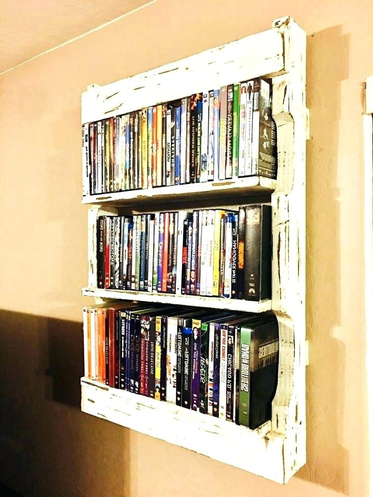 Dvd Bookcases Best Bookcase Ideas On Shelves Movie Storage And Pertaining  To Most Popular Dvd Bookcases