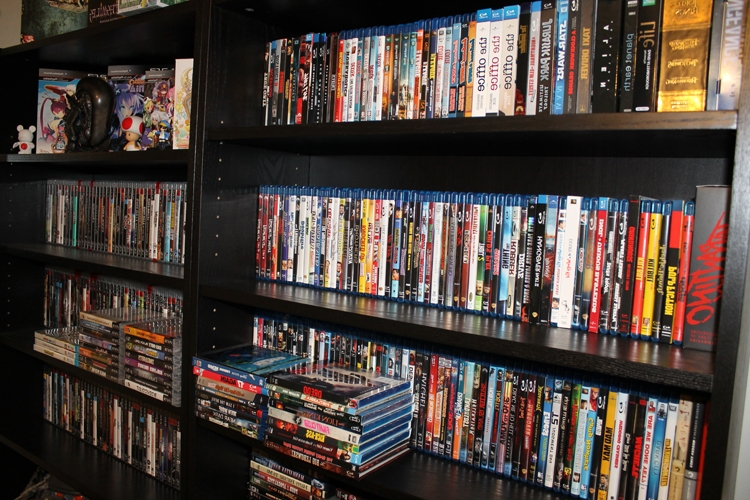 Dvd Bookcases Throughout Favorite What Sort Of Dvd/blu Ray Shelf Do You Use? I'm Looking For A New (Gallery 3 of 15)