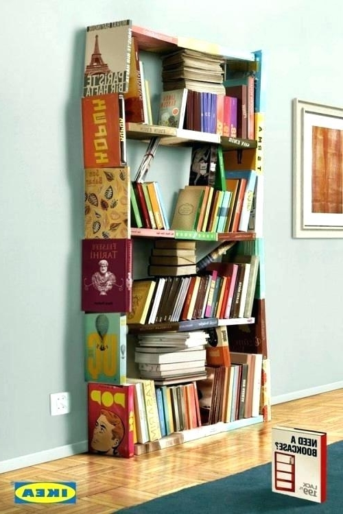 Dvd Bookcases With Regard To Most Current Dvd Storage Racks Bookcase Bookcase Amazing Bookcases For Bookcase (Gallery 9 of 15)