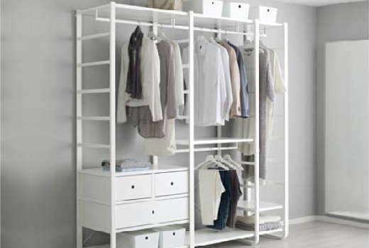 Elvarli System – Side Unit Combinations – Ikea Regarding Famous Wardrobes Drawers And Shelves Ikea (View 1 of 15)