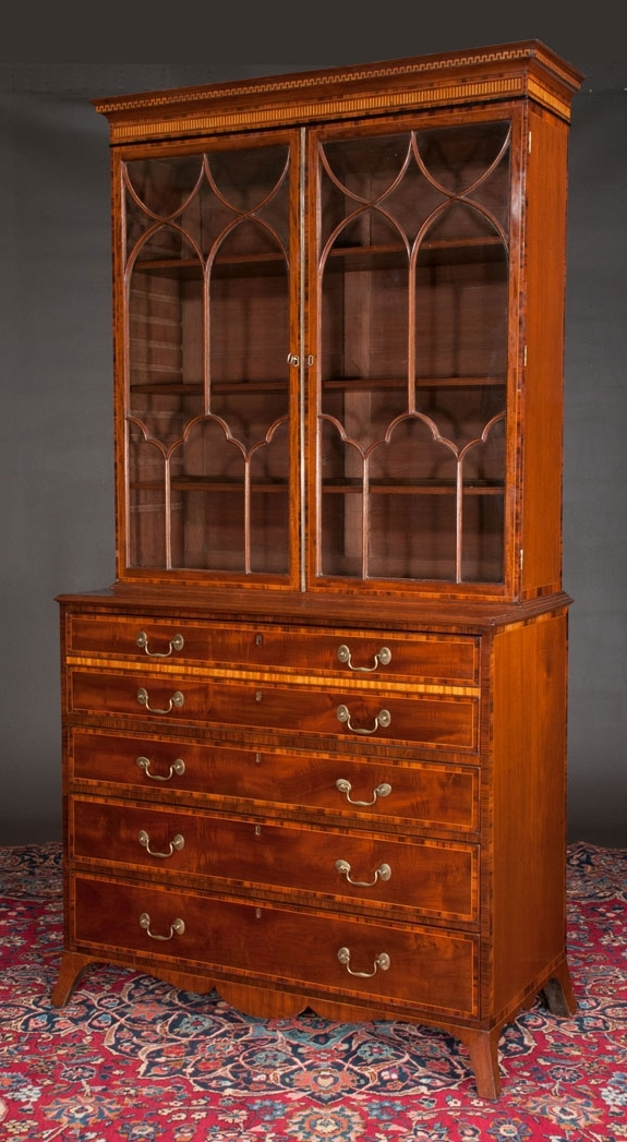English And French Antiques With Regard To Secretary Bookcases (View 5 of 15)