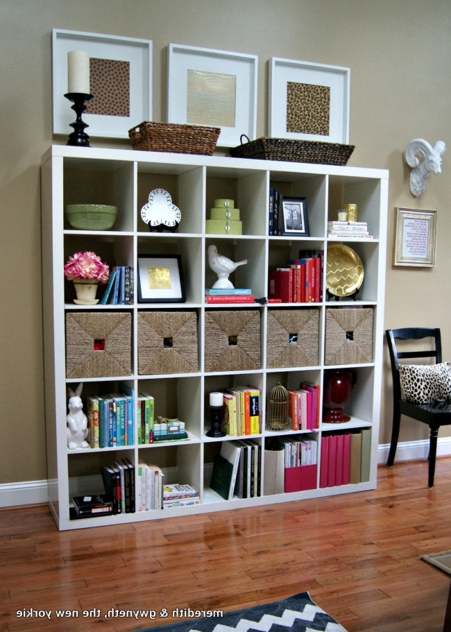 Expedit Bookcase, Bookcase Styling And In Favorite Expedit Bookcases (View 3 of 15)