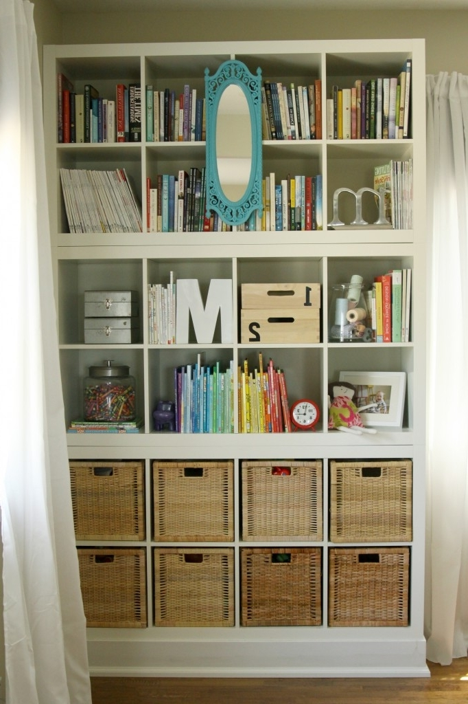 "Expedit Bookcases Intended For Most Recent Built In"" Bookshelves » The Macs (View 6 of 15)"