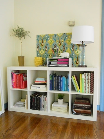 Expedit Bookcases Regarding Most Recent An Easy Ikea Hack: Bookcase To Wood Wrapped Changing Table (View 7 of 15)