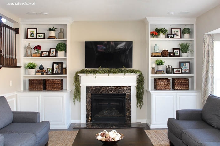 Featured Photo of Family Room Bookcases