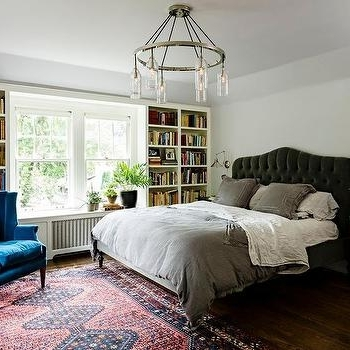 Famous Bedroom Bookcases In Bed In Front Of Bookcase Design Ideas (View 10 of 15)