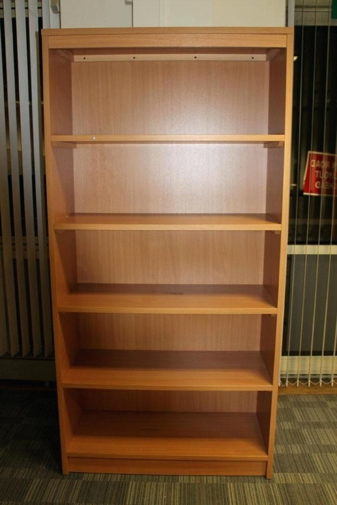 Famous Beech Bookcase Used Beech Bookcases Beech Bookcase With Drawers For Beech Bookcases (View 1 of 15)
