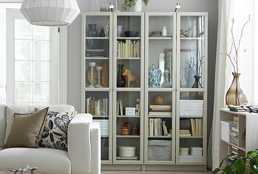 Famous Bookshelves & Bookcases – Ikea Throughout Glass Bookcases (View 2 of 15)