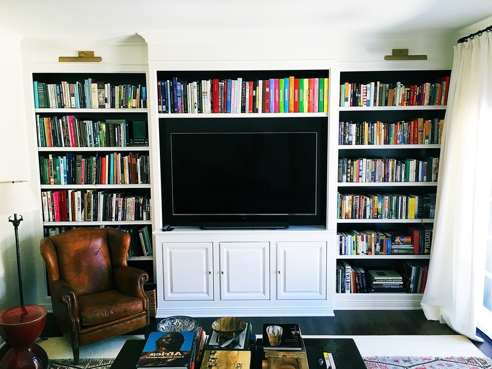 Famous Bookshelves & Entertainment Centers — Able And Baker Custom Cabinetry For Bookshelves (View 5 of 15)